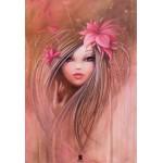 Grafika-Kids-00747 Pièces XXL - Misstigri : Sweet Pinky Girl