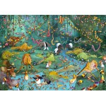 Grafika-Kids-00805 Pièces magnétiques - François Ruyer : La Jungle