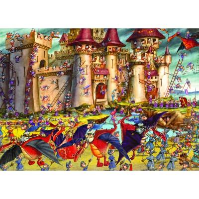 Grafika-Kids-00852 François Ruyer : Siège du Château Fort