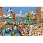 Grafika-Kids-00859 Pièces XXL - François Ruyer : Les Lapins à Venise