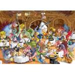 Grafika-Kids-00922 Pièces magnétiques - François Ruyer: Restaurant des Dragons