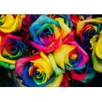 Grafika-Kids-00948 Pièces magnétiques - Roses