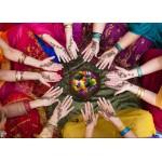 Grafika-Kids-00977 Pièces magnétiques - Femmes Indiennes