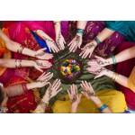 Grafika-Kids-00978 Pièces XXL - Femmes Indiennes