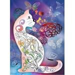Grafika-Kids-00990 Le Chat et les Papillons