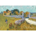Grafika-Kids-00992 Vincent Van Gogh - Ferme de Provence, 1888