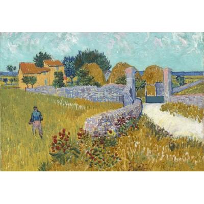 Grafika-Kids-00995 Pièces XXL - Vincent Van Gogh - Ferme de Provence, 1888