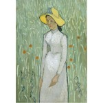 Grafika-Kids-00996 Vincent Van Gogh - Girl in White, 1890