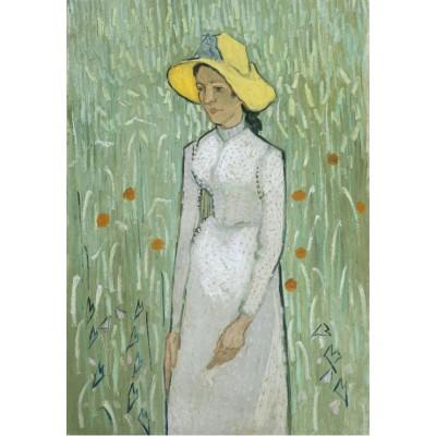Grafika-Kids-00996 Vincent Van Gogh - Girl in White, 1890