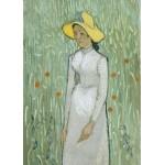 Grafika-Kids-00997 Pièces magnétiques - Vincent Van Gogh - Girl in White, 1890