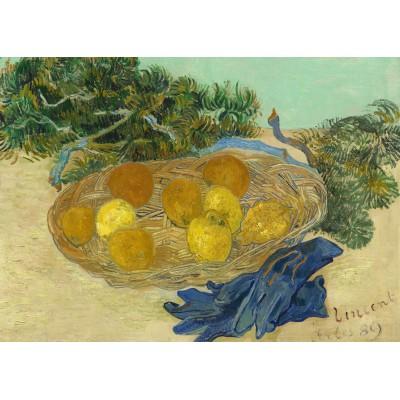 Grafika-Kids-01002 Vincent Van Gogh - Still Life of Oranges and Lemons with Blue Gloves, 1889