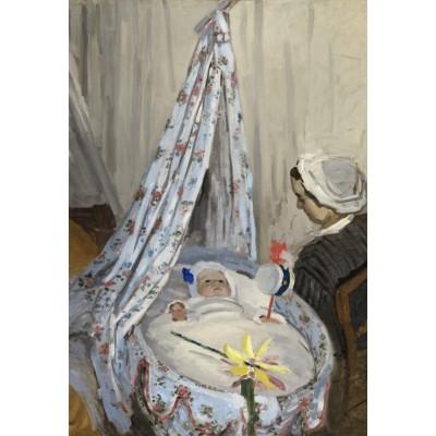 Grafika-Kids-01016 Pièces XXL - Claude Monet - The Cradle - Camille with the Artist's Son Jean, 1867
