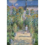 Grafika-Kids-01017 Claude Monet - Le Jardin de l'Artiste à Vétheuil, 1880
