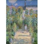 Grafika-Kids-01018 Pièces magnétiques - Claude Monet - Le Jardin de l'Artiste à Vétheuil, 1880