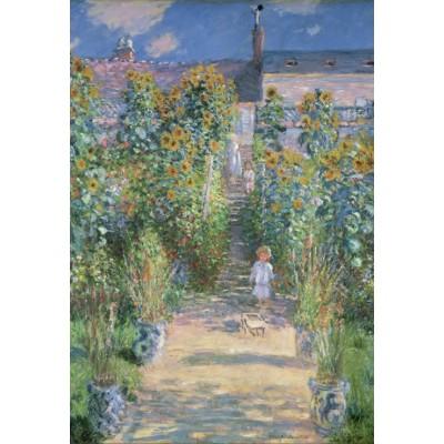 Grafika-Kids-01020 Pièces XXL - Claude Monet - Le Jardin de l'Artiste à Vétheuil, 1880