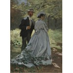 Grafika-Kids-01023 Claude Monet - Bazille et Camille, 1865