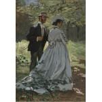 Grafika-Kids-01024 Pièces XXL - Claude Monet - Bazille et Camille, 1865