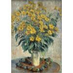Grafika-Kids-01025 Claude Monet - Jérusalem Fleurs d'artichaut, 1880