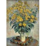 Grafika-Kids-01027 Claude Monet - Jérusalem Fleurs d'artichaut, 1880