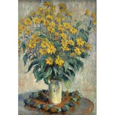 Grafika-Kids-01028 Pièces XXL - Claude Monet - Jérusalem Fleurs d'artichaut, 1880