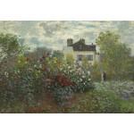 Grafika-Kids-01037 Claude Monet - Jardin de l'Artiste à Argenteuil, 1873