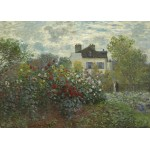 Grafika-Kids-01038 Pièces magnétiques - Claude Monet - Jardin de l'Artiste à Argenteuil, 1873