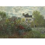 Grafika-Kids-01039 Claude Monet - Jardin de l'Artiste à Argenteuil, 1873