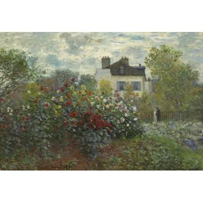 Grafika-Kids-01040 Pièces XXL - Claude Monet - Jardin de l'Artiste à Argenteuil, 1873