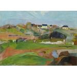 Grafika-Kids-01087 Pièces magnétiques - Paul Gauguin: Le Pouldu, 1890