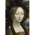 Grafika-Kids-01093 Pièces XXL - Leonard de Vinci: Ginevra de' Benci, 1474-1476