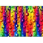 Grafika-Kids-01097 Pièces magnétiques - Bulles Multicolores
