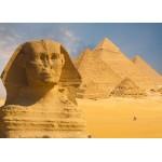 Grafika-Kids-01140 Pièces magnétiques - Sphinx et Pyramides de Gizeh