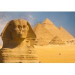 Grafika-Kids-01142 Pièces XXL - Sphinx et Pyramides de Gizeh