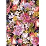 Grafika-Kids-01175 Pièces magnétiques - Vintage Flowers and Birds