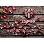 Grafika-Kids-01180 Pièces magnétiques - Love
