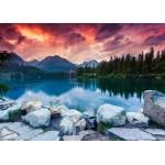 Grafika-Kids-01193 Pièces magnétiques - Parc National des Hautes Tatras, Slovaquie, Pologne