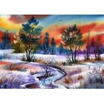 Grafika-Kids-01210 Pièces magnétiques - Winter Water