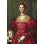 Grafika-Kids-01253 Agnolo Bronzino : Jeune Femme et Son Petit Garçon, 1540