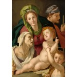 Grafika-Kids-01254 Agnolo Bronzino : La Sainte Famille, 1527/1528