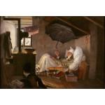 Grafika-Kids-01257 Carl Spitzweg - Le Pauvre Poète, 1839