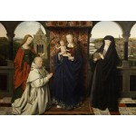 Grafika-Kids-01260 Jan van Eyck - Virgin and Child, with Saints and Donor, 1441