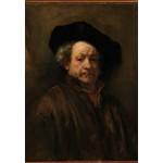 Grafika-Kids-01262 Rembrandt - Auto-Portrait, 1660