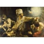 Grafika-Kids-01265 Rembrandt - Le Festin de Balthazar, 1636-1638