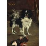 Grafika-Kids-01268 Edouard Manet : Tama : Le Chien Japonais, 1875