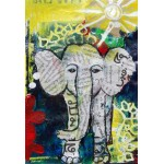 Grafika-Kids-01273 Pièces XXL - Eléphanteau Thaïlandais