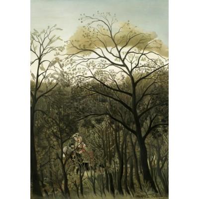 Grafika-Kids-01274 Henri Rousseau : Rendez-Vous dans la Forêt, 1889