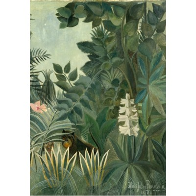 Grafika-Kids-01275 Henri Rousseau : La Jungle Equatoriale, 1909