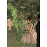 Grafika-Kids-01277 Edgar Degas : Danseuse en Coulisse, 1876/1883