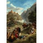 Grafika-Kids-01291 Eugène Delacroix : Arabes tiraillés dans les montagnes