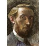 Grafika-Kids-01293 Edouard Vuillard : Autoportrait à l'Age de 21 ans, 1889
